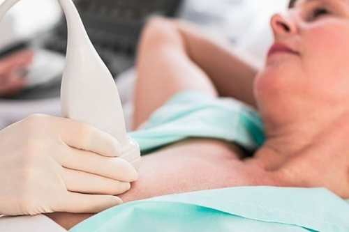 Ultrasonido mamario