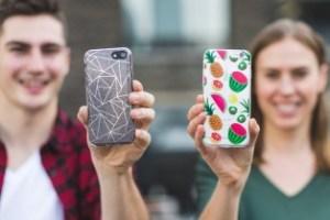 using phone cases