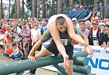 Wife Carrying in Finland