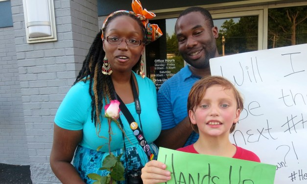 A view from the Ferguson Protests