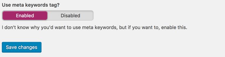 Keyword WordPress