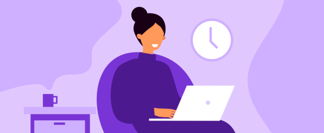 plan your time when working from home