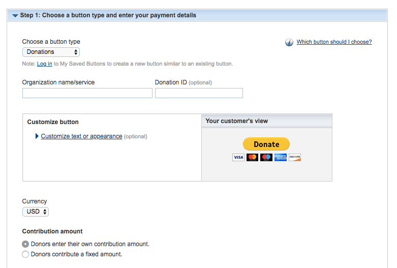 How To Add A Paypal Donate Button To WordPress