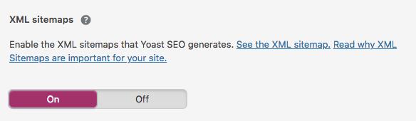 Kiat SEO WordPress - aktifkan peta situs xml