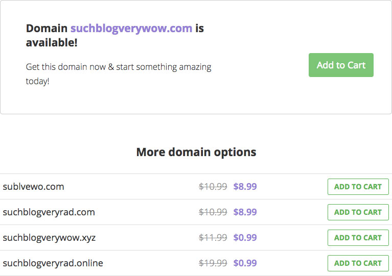 Choosing a domain name for your blog
