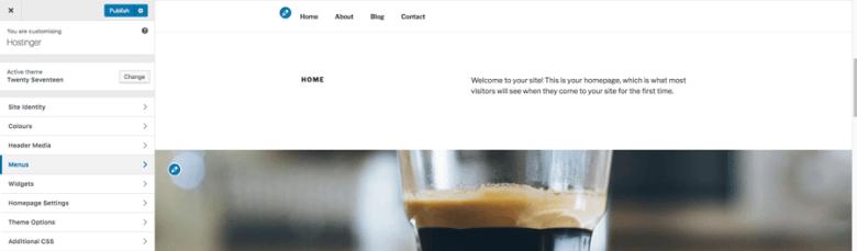 Personalizzare un tema WordPress