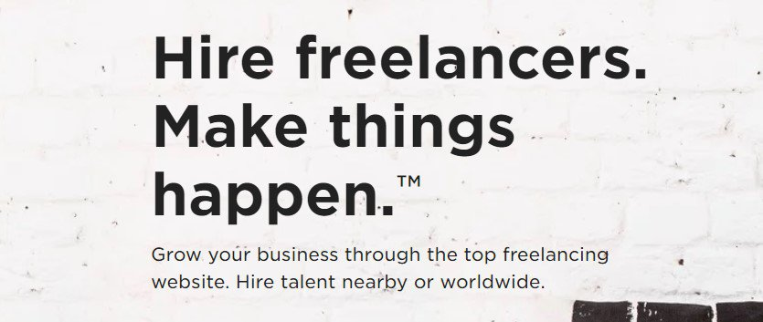 Upwork freelance website