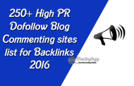 How to get Free 250+ do-follow backlinks from High PR US Sites