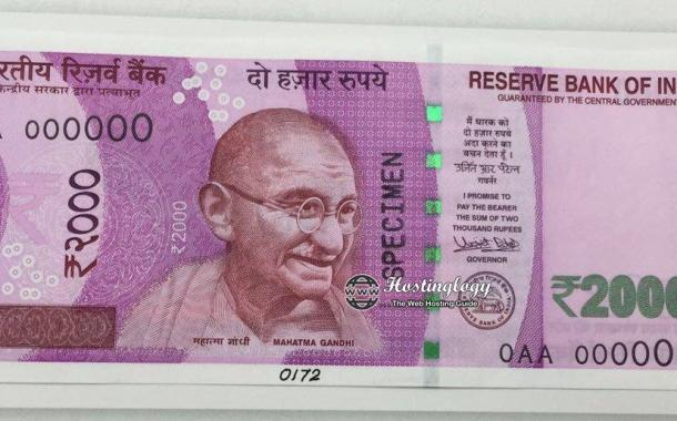 Images of New Indian Currency of Rs 500 and 2000 Rs Notes Available: Old 500 and 1000 Rupees Notes Banned