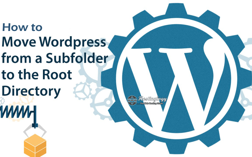 How to move WordPress from a subfolder to the root directory