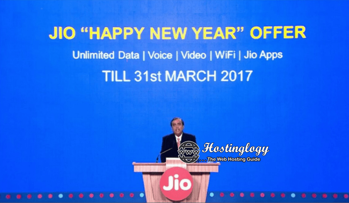 Jio Extends its Welcome Offer Till 31st March 2017