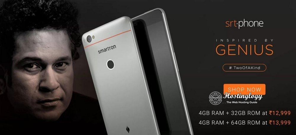 "Here Is All You Need To Know about Smartron ""srt.phone"" Launched By Sachin Tendulkar"