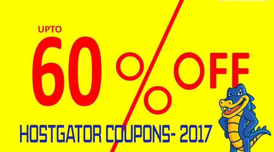 [Verified] Get 60% Off on HostGator Hostings; Hostgator Coupon Code 2017