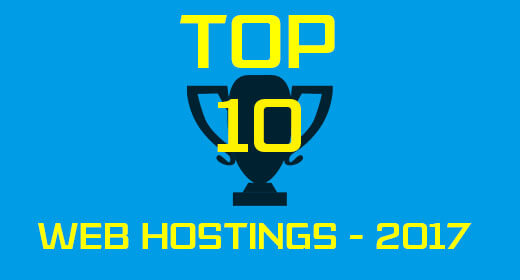 List of Top 10 Web Hostings in March 2017- Hosting Review Now