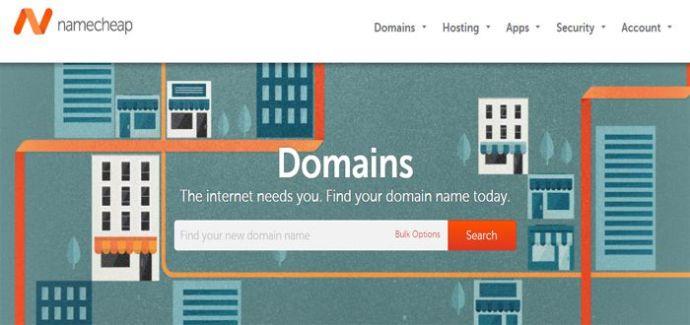 namecheap top domain registrars