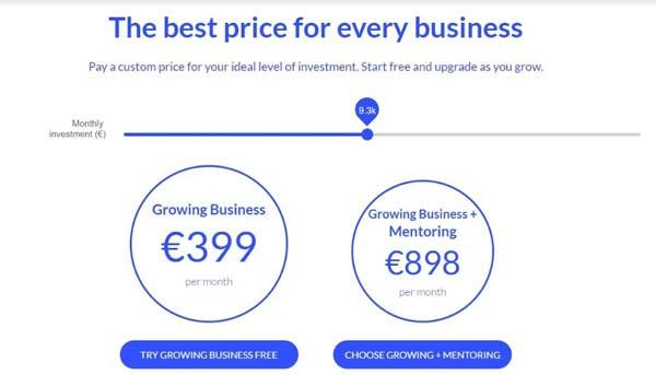 Spaceboost plans pricing