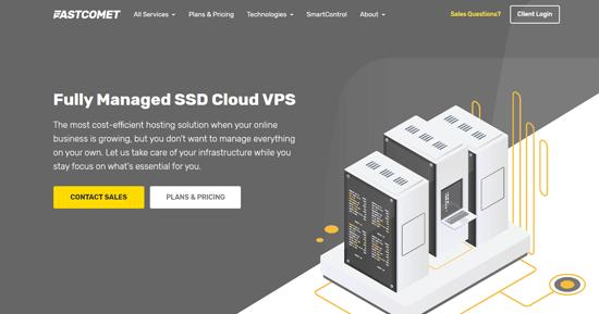 Fastcomet cloud vps hosting