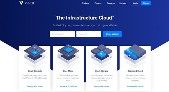 vultr cloud servers