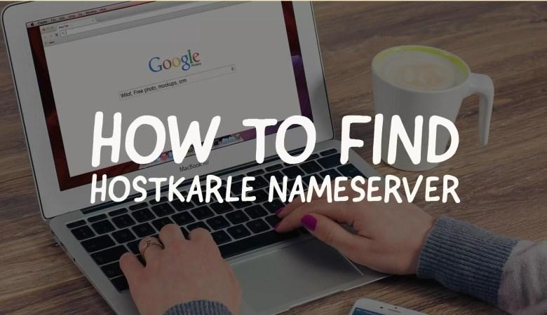 find hostkarle nameservers