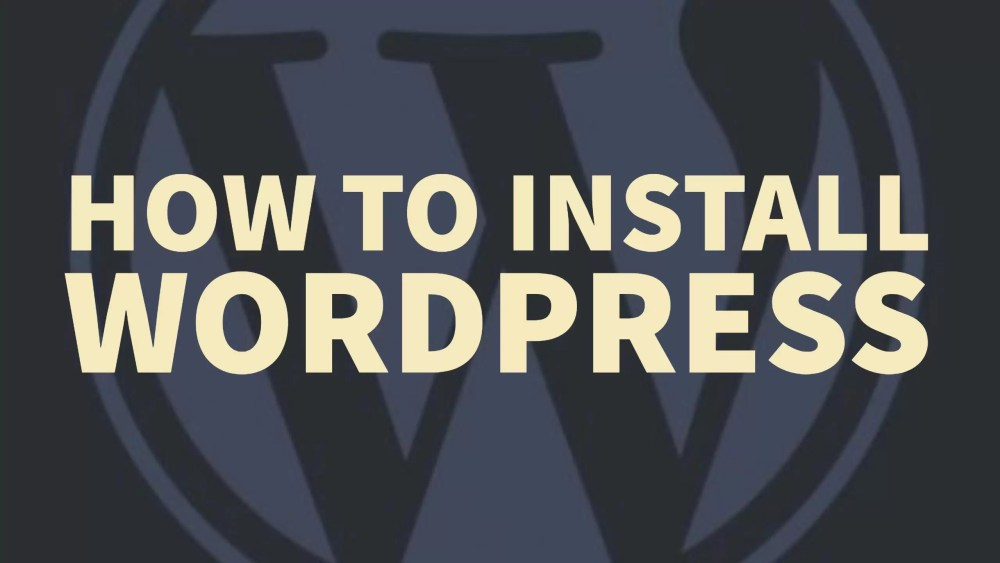 install wordpress, How to install wordpress blog on cpanel shared hosting