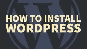 How to install wordpress blog on cpanel shared hosting