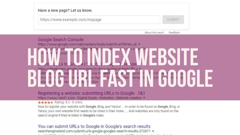 How to Index website
