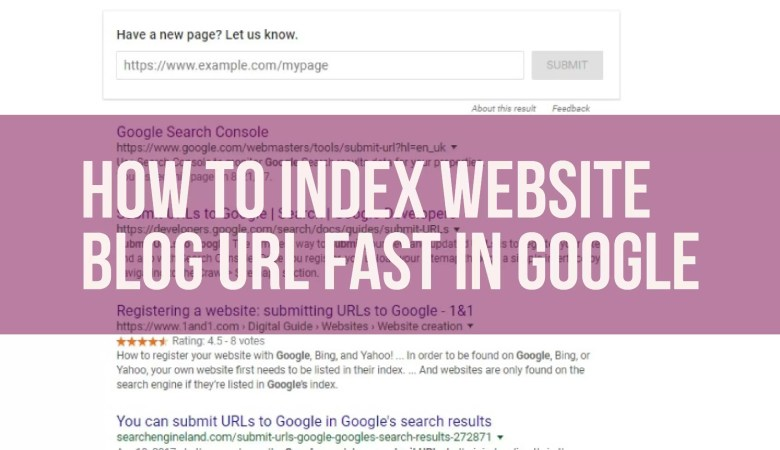 How to Index website