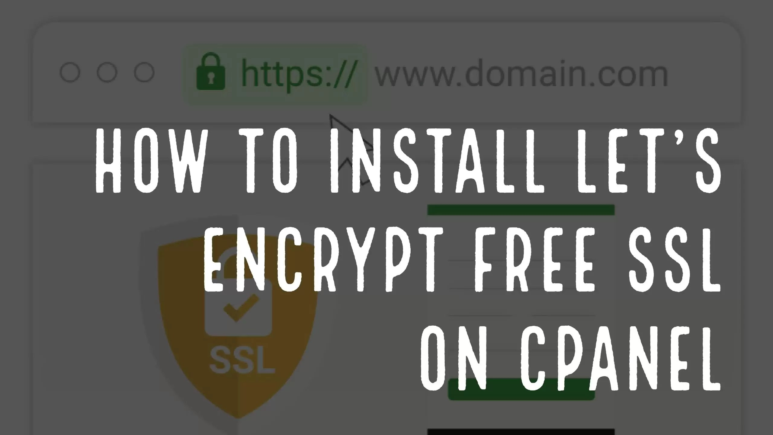 How to install lets encrypt free ssl on cpanel hosting how to install lets encrypt free ssl on cpanel hosting hostkarle blog 1betcityfo Image collections