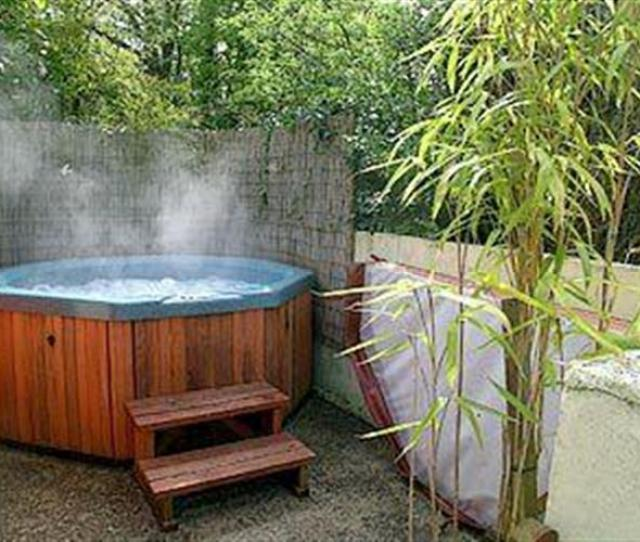 Hot Tub At Beech Cottage Pyworthy Holsworthy Near Bude