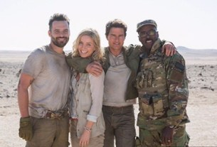 'The Mummy' Is in Africa. See the New Set Picture
