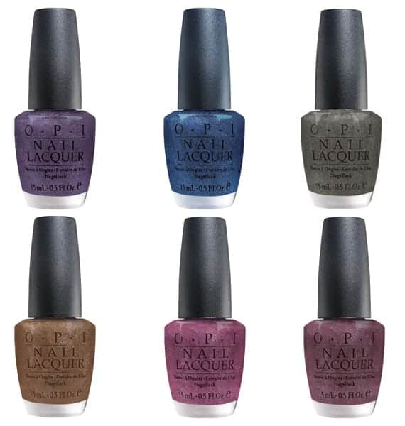 OPI Suede Nail Polish Collection Fall 2009
