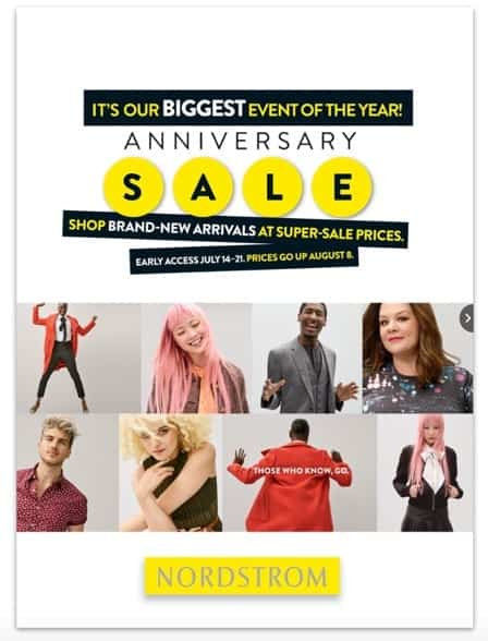 Image result for nordstrom catalog anniversary sale