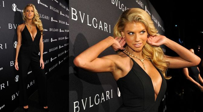 Charlotte McKinney – BVLGARI And Save The Children Pre-Oscar Event in Beverly Hills