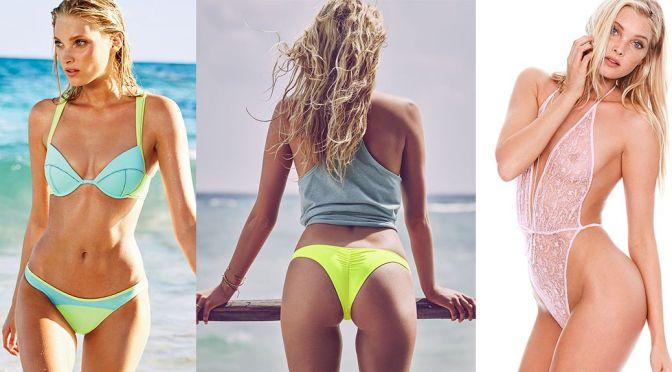 Elsa Hosk – Victoria's Secret Bikini & Lingerie Photoshoot