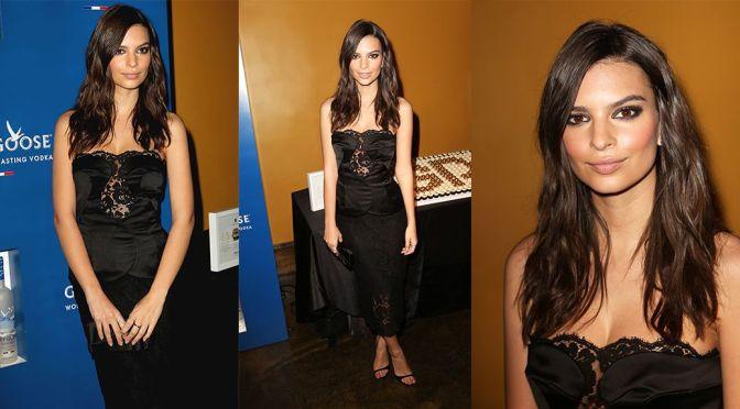 Emily Ratajkowski – Grammys Ultimate VIP Event in New York