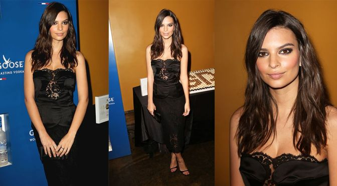 Emily Ratajkowski – Grammys Ultimate VIP Event in New York