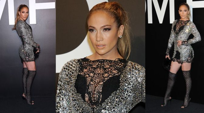 "Jennifer Lopez – ""Tom Ford"" Fashion Show in Los Angeles"