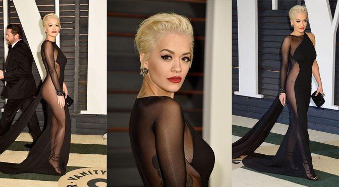 Rita Ora – Vanity Fair Oscar Party in Hollywood