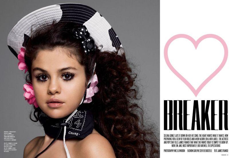Selena Gomez - V Magazine Photoshoot (V94 Spring 2015)
