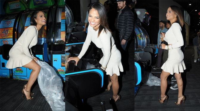 Christina Milian - Candids in Hollywood
