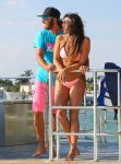 Claudia Romani - Bikini Candids in Miami
