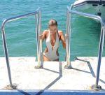 Kimberley Garner - Swimsuit Candids in Cannes