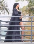Kylie Jenner - Photoshoot Candids in Hollywood