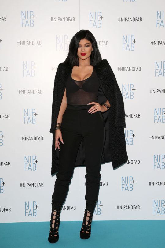 Kylie Jenner - Nip + Fab Photocall in London