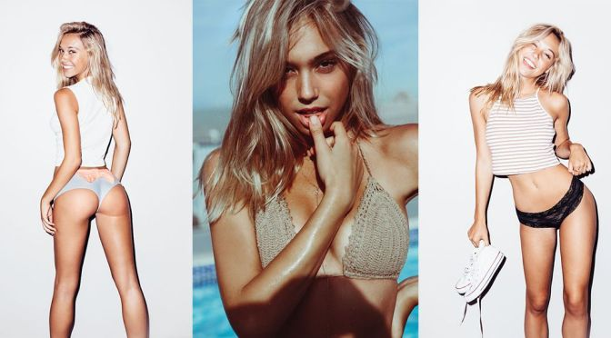 Alexis Ren – Bikini & Lingerie Photoshoot by Lucas Passmore