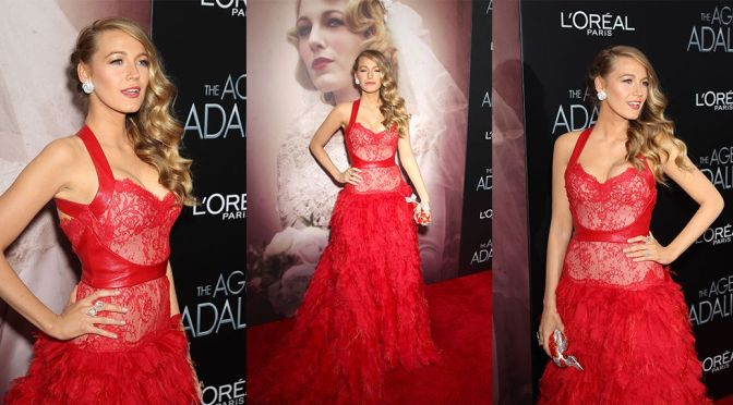 """Blake Lively – """"The Age Of Adaline"""" Premiere in New York"""
