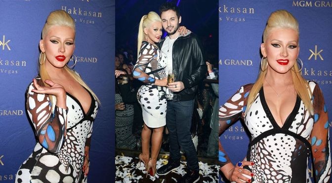 Christina Aguilera – Hakkasan Nightclub's 2nd Year Anniversary Party