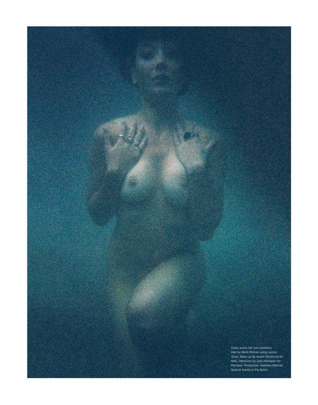 Daisy Lowe - Ponystep Magazine Nude Photoshoot (NSFW)