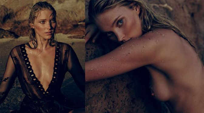 Elsa Hosk – Topless Photoshoot by Matthew Sprout (NSFW)