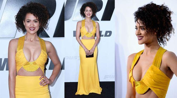 Nathalie Emmanuel - Furious 7 Premiere in Hollywood